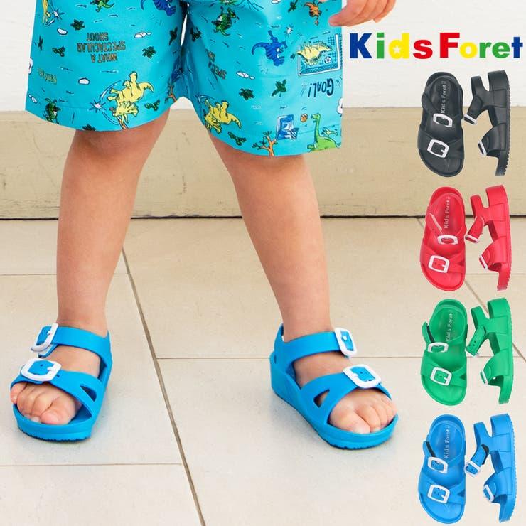 Kids Foret カラーサンダル | こどもの森e-shop | 詳細画像1