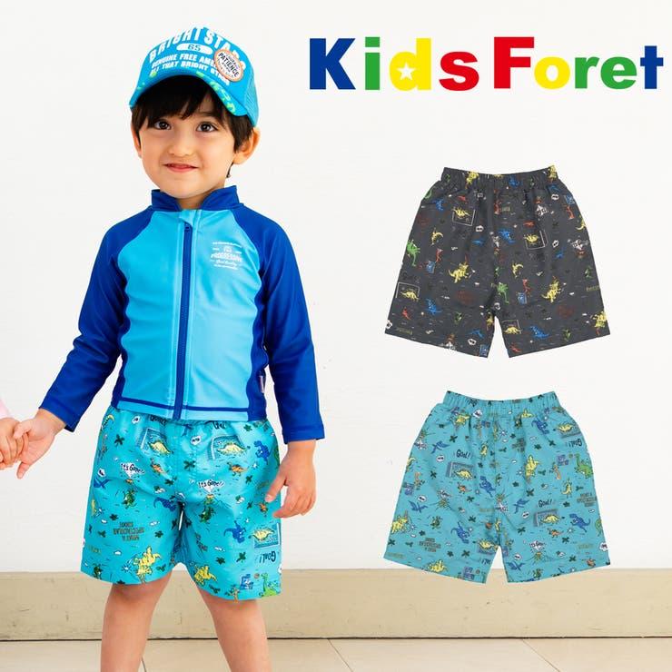 Kids Foret 恐竜柄サーフパンツ   こどもの森e-shop   詳細画像1