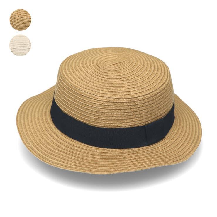 【子供服】KidsForet(キッズフォーレ)洗えるたためるカンカン帽子・ハット48cm~56cmB35429 | 詳細画像