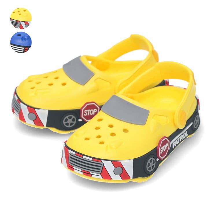 【子供服】KidsForet(キッズフォーレ)車サンダル14cm~17cmB35507 | 詳細画像