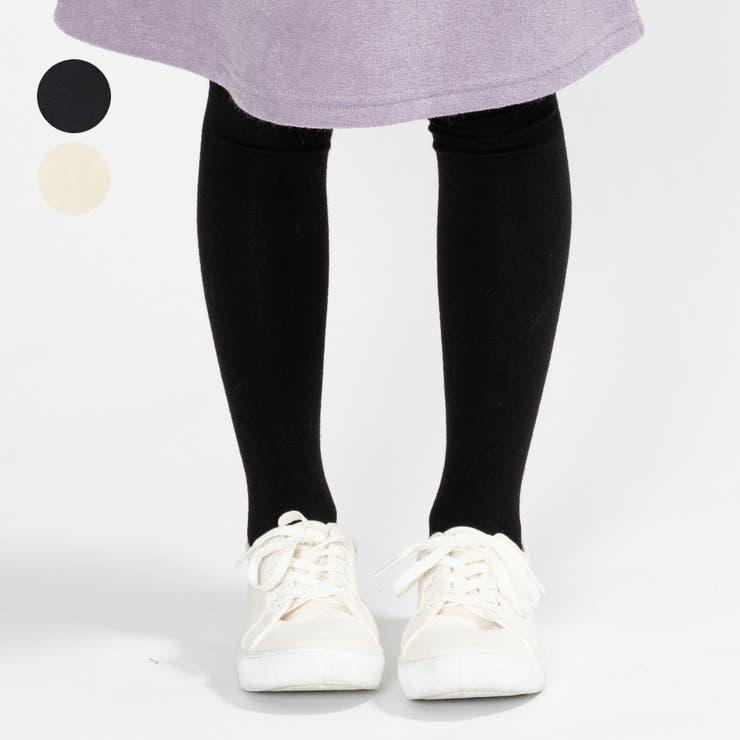 【子供服】KidsForet(キッズフォーレ)マイルドタッチ無地タイツ85cm~135cmB53838 | 詳細画像