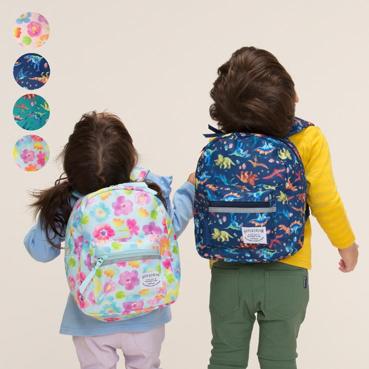 Kids Foret 撥水加工花柄 | こどもの森e-shop | 詳細画像1