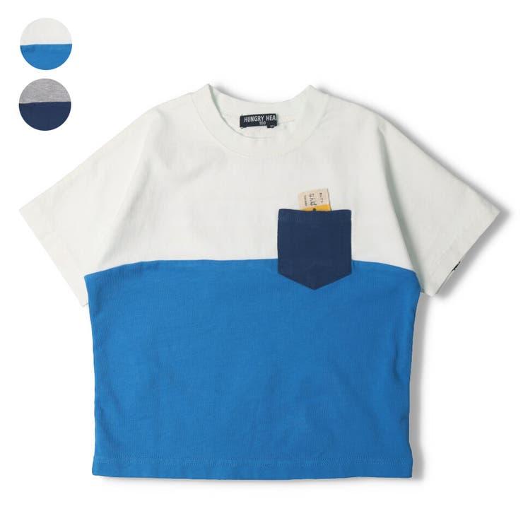 【子供服】HungryHeart(ハングリーハート)近鉄電車切り替え切符仕掛けTシャツ90cm~140cmK34810 | 詳細画像