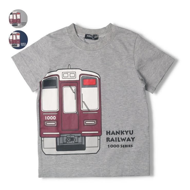 【子供服】HungryHeart(ハングリーハート)阪急電車Tシャツ90cm~130cmK34830 | 詳細画像