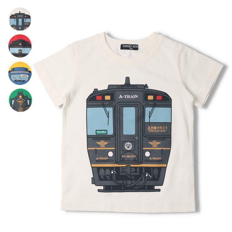 【子供服】HungryHeart(ハングリーハート)JR九州電車プリントTシャツ90cm~130cmK34880 | 詳細画像