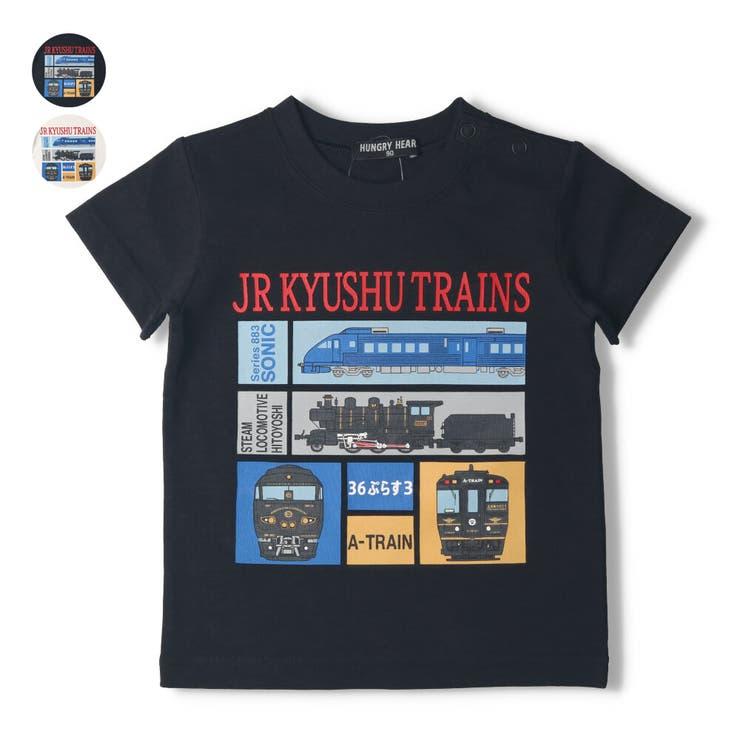 【子供服】HungryHeart(ハングリーハート)JR九州電車プリントTシャツ90cm~130cmK34881 | 詳細画像