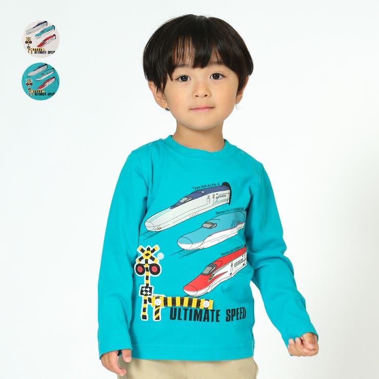 Hungry Heart 新幹線電車遮断機仕掛けTシャツ   こどもの森e-shop   詳細画像1