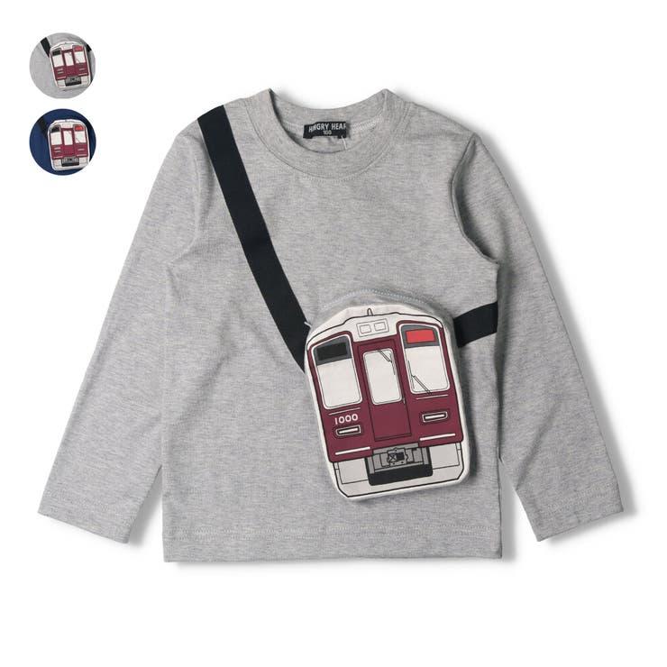 Hungry Heart 阪急電車サコッシュ風Tシャツ | こどもの森e-shop | 詳細画像1