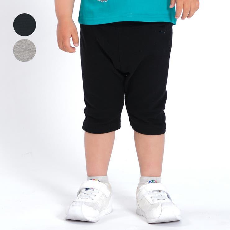 moujonjon 日本製リップルフライス6分丈パンツ 80cm~130cm | こどもの森e-shop | 詳細画像1
