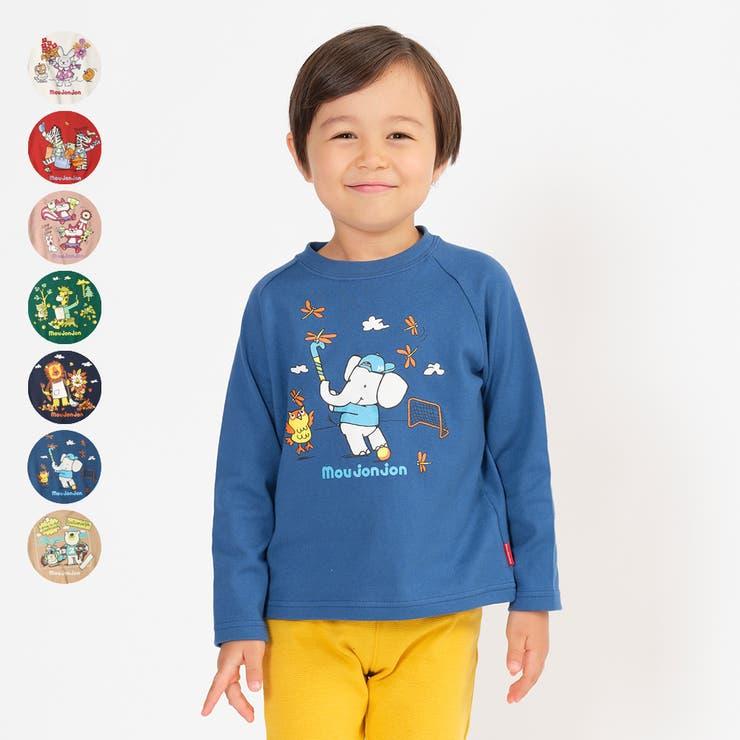 moujonjon ネット限定日本製動物キャラクターTシャツ 80cm | こどもの森e-shop | 詳細画像1