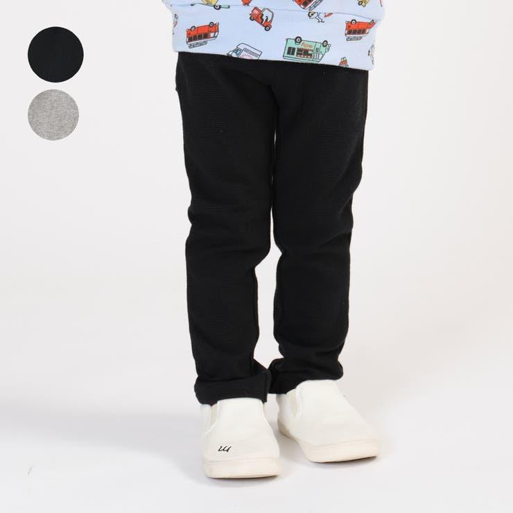 m' 日本製リップルフライス無地長パンツ 80cm | こどもの森e-shop | 詳細画像1
