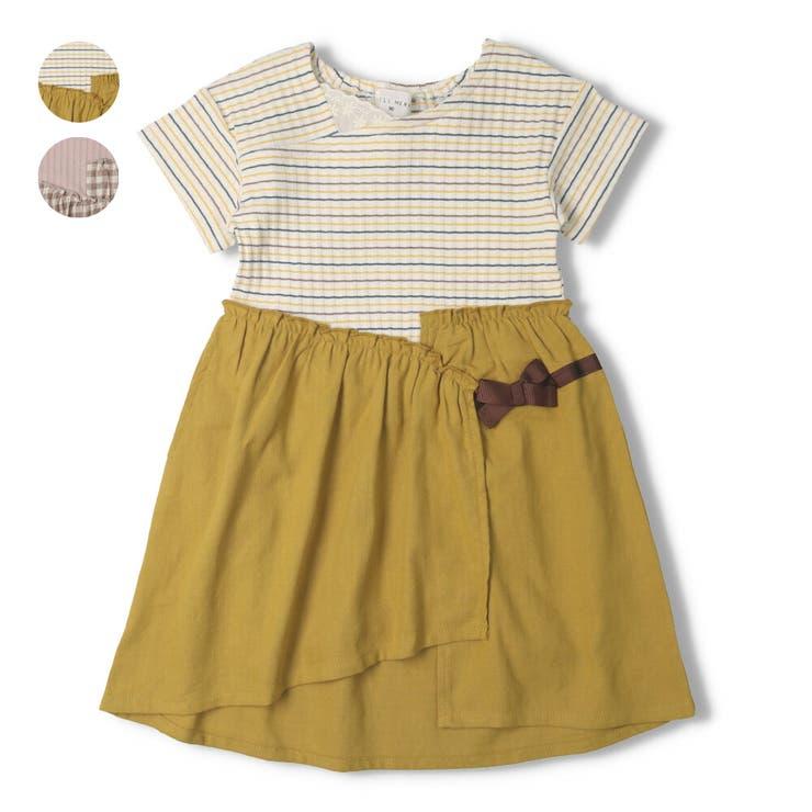 【子供服】WILLMERY(ウィルメリー)切替ワンピース80cm~130cmN44305   詳細画像