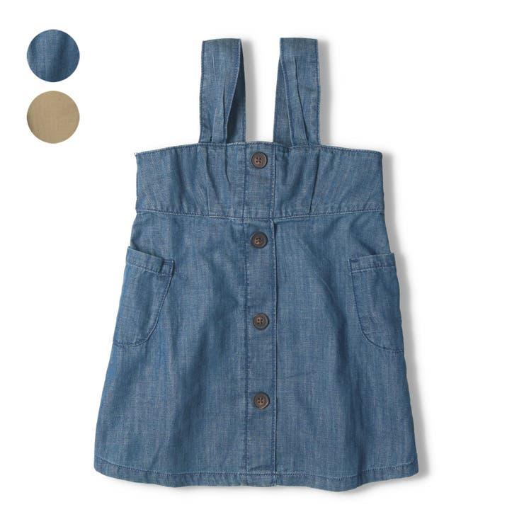 【子供服】WILLMERY(ウィルメリー)ジャンパースカ-ト80cm~130cmN44311 | 詳細画像
