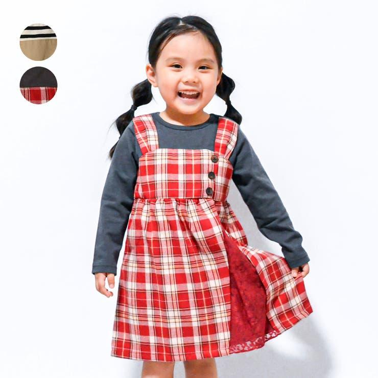 WILL MERY ジャンパースカート風ワンピース   こどもの森e-shop   詳細画像1
