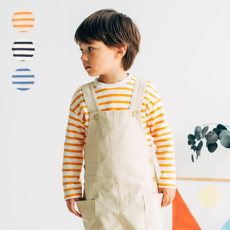 【子供服】LBCLUB(エルビークラブ)ボーダーTシャツ80cm~130cmS14859   詳細画像