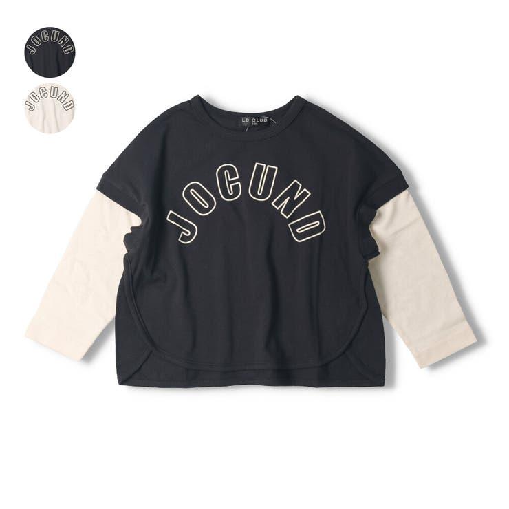 【子供服】LBCLUB(エルビークラブ)ロゴプリントゆったりTシャツ80cm~130cmS14860   詳細画像