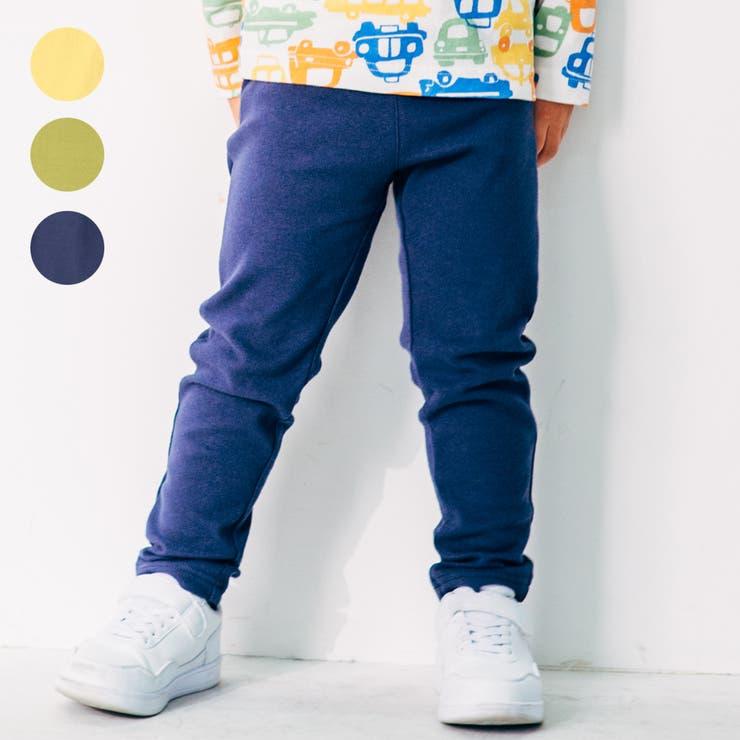 【子供服】LBCLUB(エルビークラブ)リップルフライス無地パンツ80cm~130cmS15059 | 詳細画像
