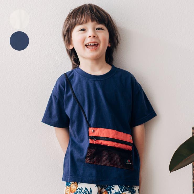 LB CLUB サコッシュ付半袖Tシャツ | こどもの森e-shop | 詳細画像1