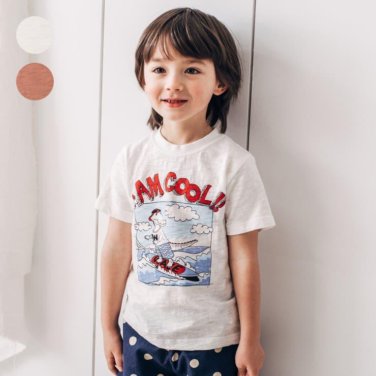 LB CLUB ワニロゴプリント半袖Tシャツ   こどもの森e-shop   詳細画像1