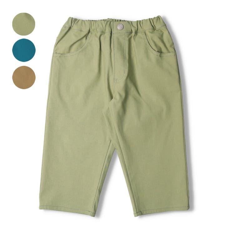 【子供服】LBCLUB(エルビークラブ)撥水ストレッチツイル6分丈パンツ140cm~160cmS35180 | 詳細画像