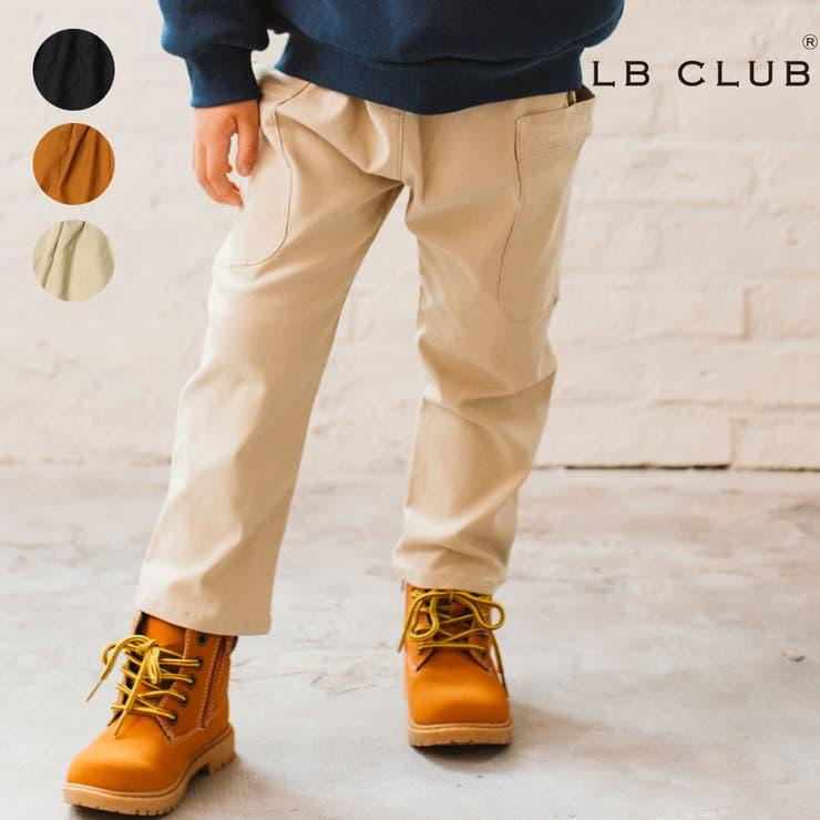 【子供服】LBCLUB(エルビークラブ)ツイル裏起毛脇ポケットパンツ80cm~130cmS53070 | 詳細画像