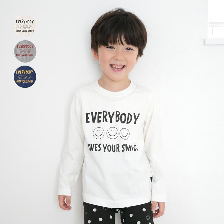 LB CLUB スマイルロゴプリント長袖Tシャツ | こどもの森e-shop | 詳細画像1