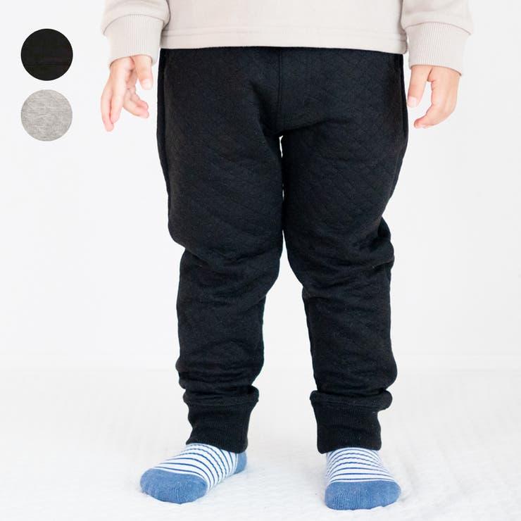 ACOBA ニットキルト裾リブパンツ キッズ | こどもの森e-shop | 詳細画像1