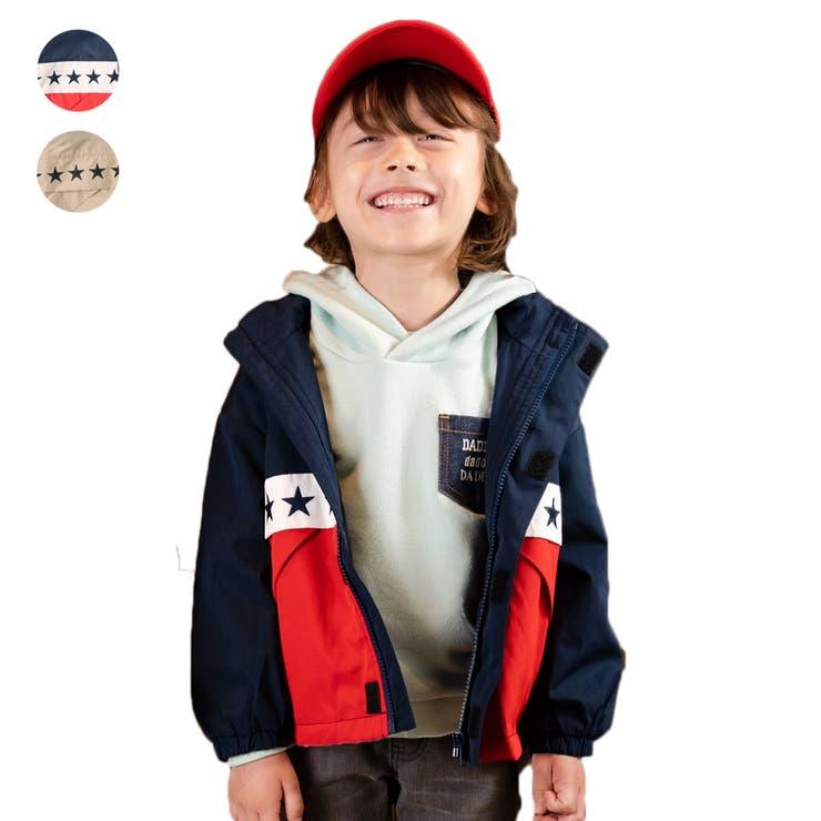 【子供服】DaddyOhDaddy(ダディオダディ)ポケッタブル裏メッシュジャケット90cm~150cmV14120 | 詳細画像