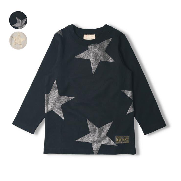 【子供服】DaddyOhDaddy(ダディオダディ)ネット限定日本製箔星柄Tシャツ90cm~150cmV14851 | 詳細画像