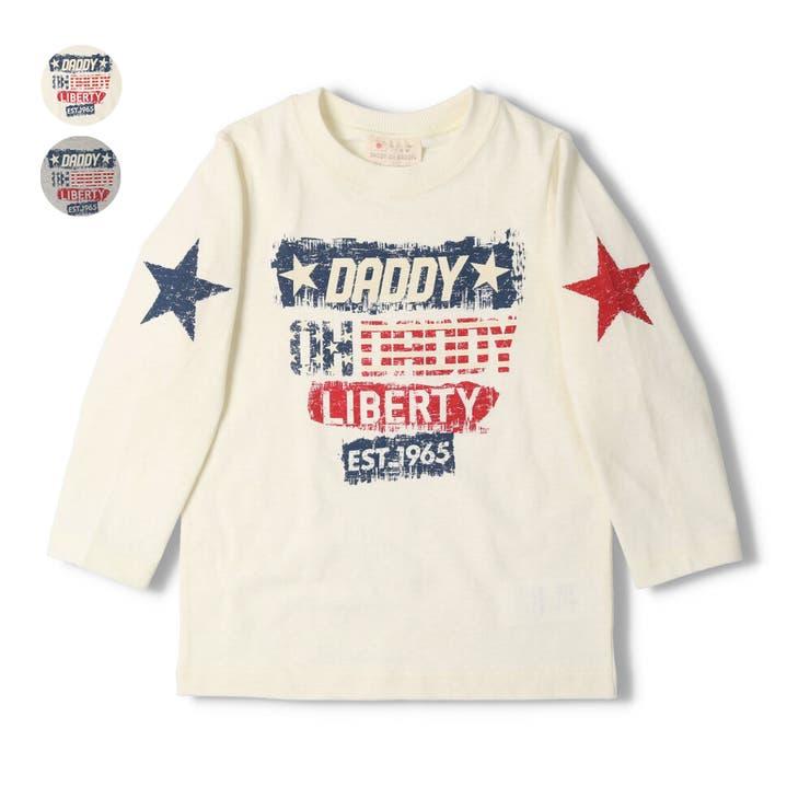 【子供服】DaddyOhDaddy(ダディオダディ)ネット限定日本製ロゴTシャツ90cm~150cmV14853 | 詳細画像