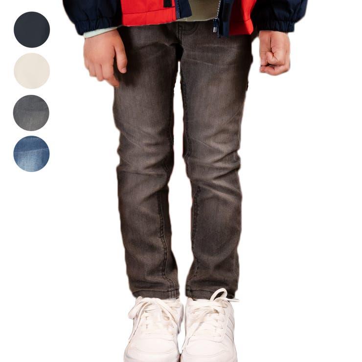 【子供服】DaddyOhDaddy(ダディオダディ)ベーシックストレッチスキニーパンツ90cm~150cmV15011   詳細画像
