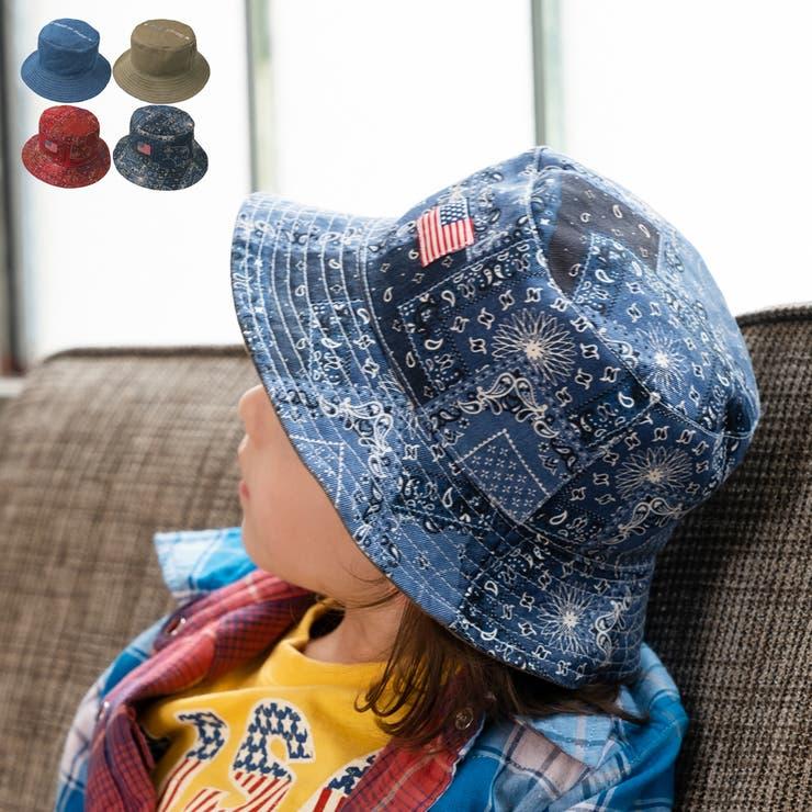 【子供服】DaddyOhDaddy(ダディオダディ)リバーシブルバケットハット・帽子50cm~56cmV15400 | 詳細画像