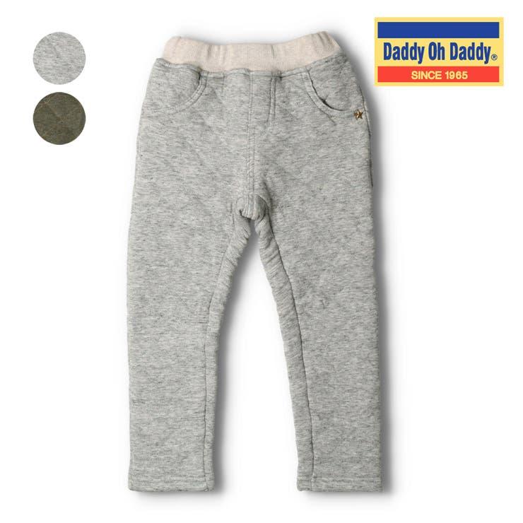 【子供服】DaddyOhDaddy(ダディオダディ)チェックアップリケキルトパンツ80cm~150cmV53064 | 詳細画像