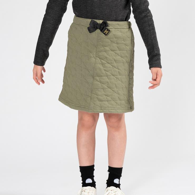 【子供服】DaddyOhDaddy(ダディオダディ)星柄キルトスカート80cm~150cmV53270 | 詳細画像