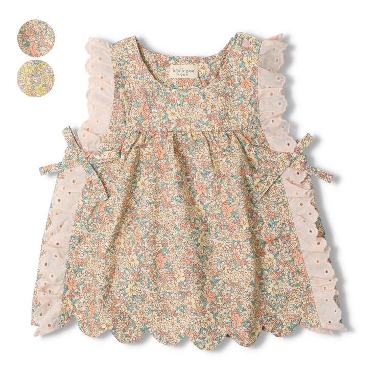 【子供服】kid´szoo(キッズズー)小花柄チュニック70cm~95cmW24911 | 詳細画像