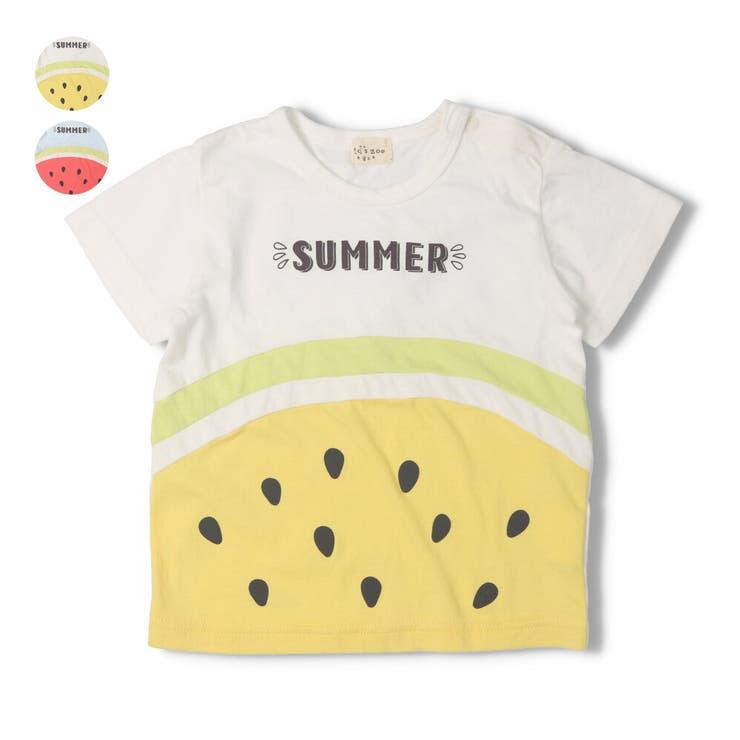 kid´s zoo スイカ半袖Tシャツ | こどもの森e-shop | 詳細画像1