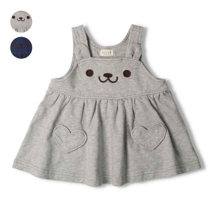 kid´s zoo デニムニットうさぎジャンパースカート   こどもの森e-shop   詳細画像1