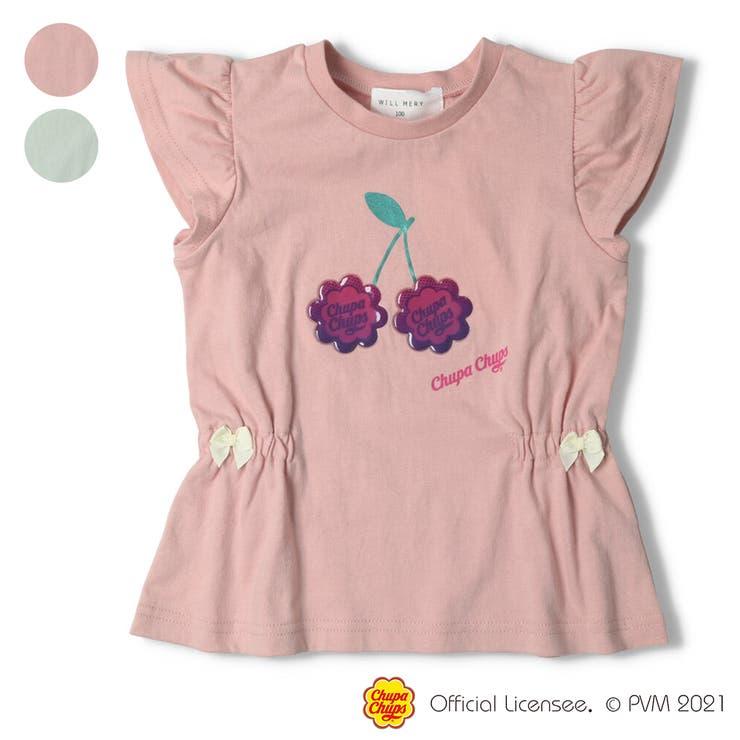【子供服】WILLMERY(ウィルメリー)チュッパチャプスTシャツ100cm~130cmZ44830   詳細画像