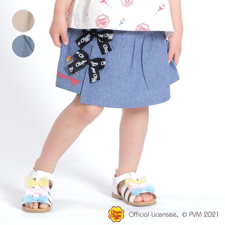【子供服】WILLMERY(ウィルメリー)チュッパチャプスキュロットパンツ100cm~130cmZ45125 | 詳細画像
