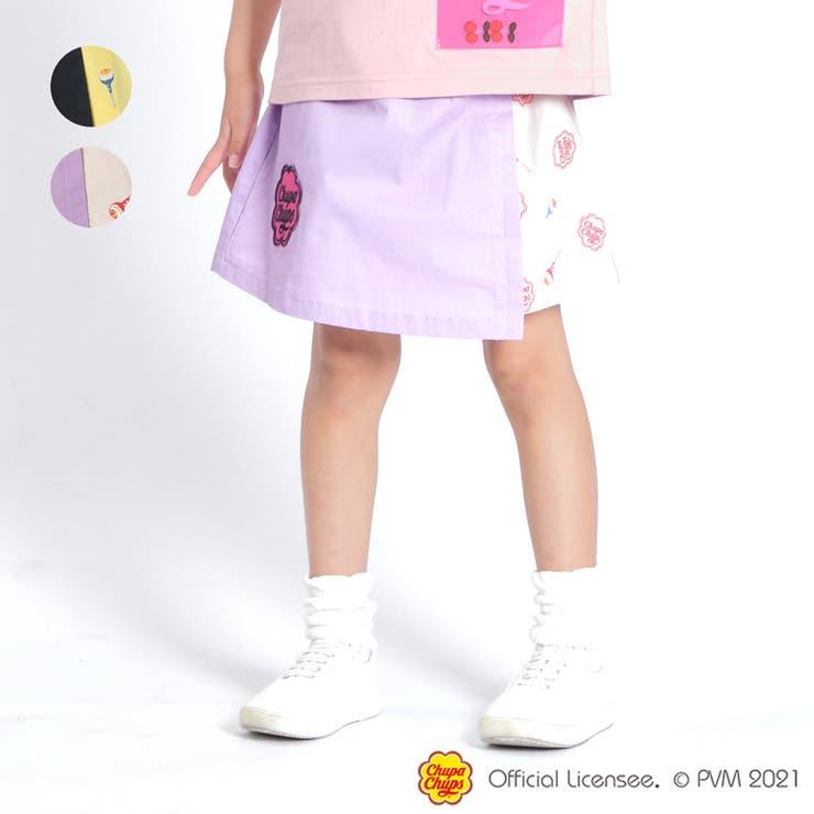 【子供服】WILLMERY(ウィルメリー)チュッパチャプス配色スカート100cm~130cmZ45200 | 詳細画像