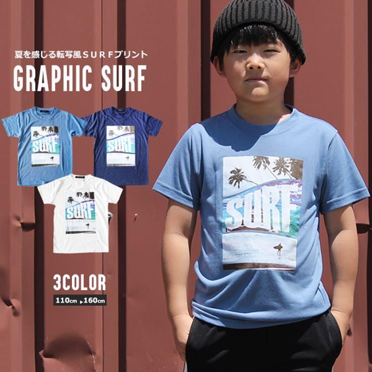 SURF 転写プリント Tシャツ   MB2   詳細画像1