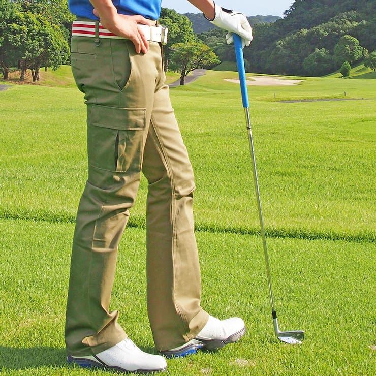 ゴルフパンツ メンズ ストレッチパンツ ゴルフメンズウエア 美脚 脚長 ローライズ ブーツカット バナナシルエット 3Dパンツ ボトムス メンズウェアー ゴルフ用品 スポーツ golf 新作 人気   詳細画像