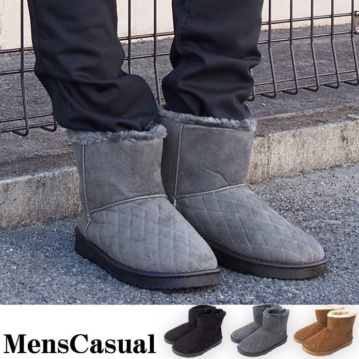 メンズ ムートンブーツ フェイクファー エンジニアブーツ ショートブーツ キルティング メンズブーツ カジュアルシューズ メンズ靴メンズカジュアル 通販 靴 新作