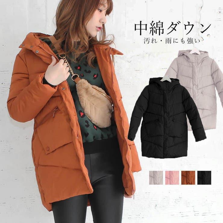 ダウンコート レディース ダウンジャケット 軽い 暖かい 中綿 コート 冬 | Miniministore | 詳細画像1
