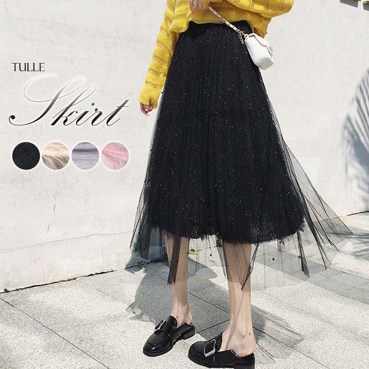 Miniministoreのスカート/プリーツスカート   詳細画像