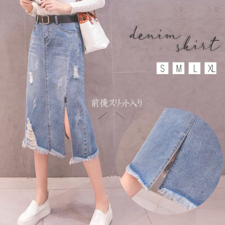 Miniministoreのスカート/デニムスカート   詳細画像