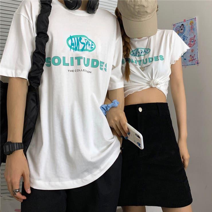 カップル tシャツ カジュアル 韓国 | Miniministore | 詳細画像1