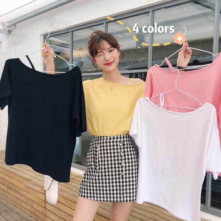 Tシャツ レディーストップス カットソー   Miniministore   詳細画像1