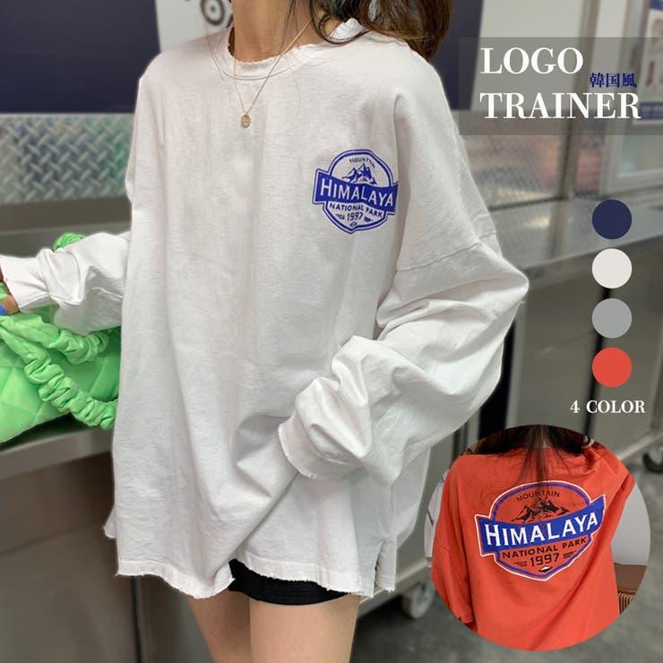 Tシャツ レディース 長袖 韓国   Miniministore   詳細画像1