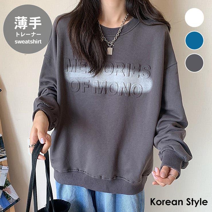 トレーナー レディース 韓国ファッション   Miniministore   詳細画像1